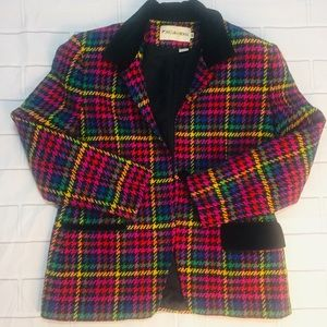 Beautiful Colorful Blazer- JH Collectibles